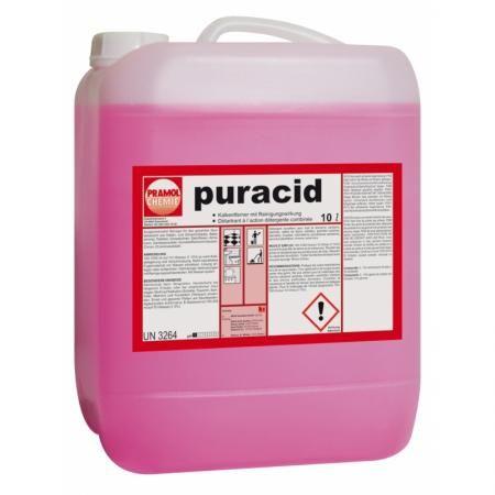 Puracid 10 L Pramol usuwanie kamienia czyszczenie higiena dezynfekcja