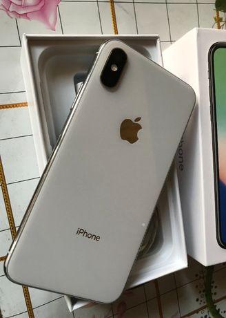 IPhone X 64gb Silver neverlock
