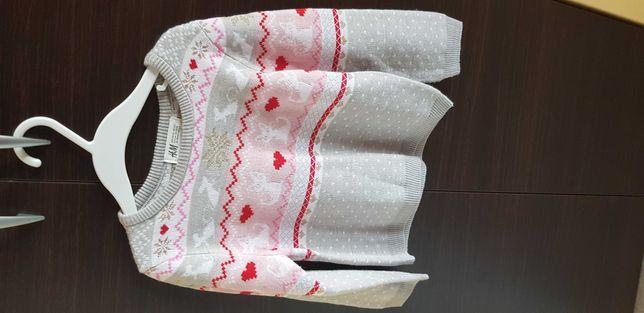 Sweterk firmy H&M, rozmiar 98/104 cm