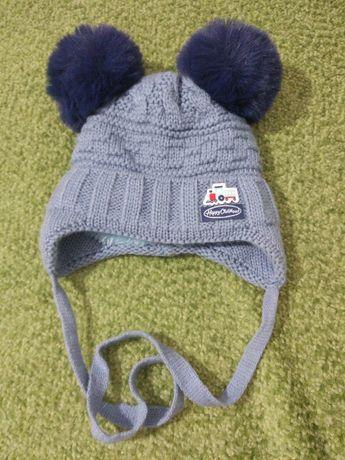 Зимова шапочка для новонародженого