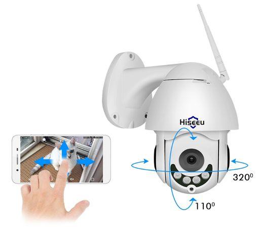 Câmera IP Vigilância * 1080P * Rotativa * WI-FI * Detetor de Movimento