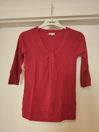 Czerwony sweterek S