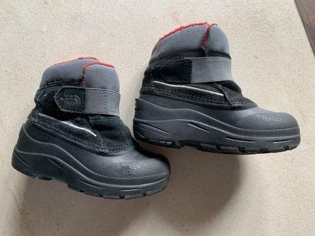 North face buty śniegowce dziecięce 25 wkładka 14,5 cm