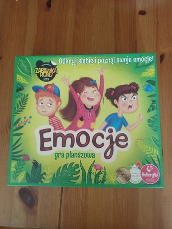 EMOCJE gra planszowa 7-99 L.