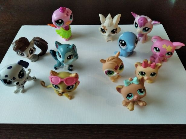Figurki zwierzaki Littlest Pet Shop KOMPLET