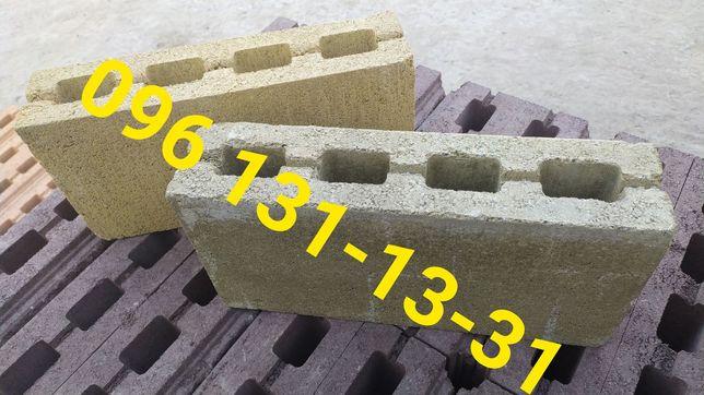 Камень для забора шлакоблок ЕСТЬ в наличии от производителя, доставка
