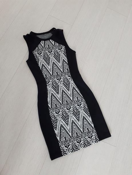 Mohito sukienka mini black /white rozm.Xxs