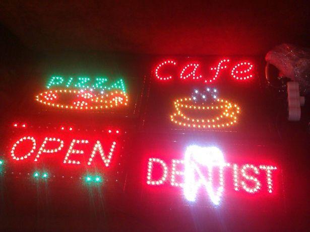 Светодиодные LED-вывески рекламные