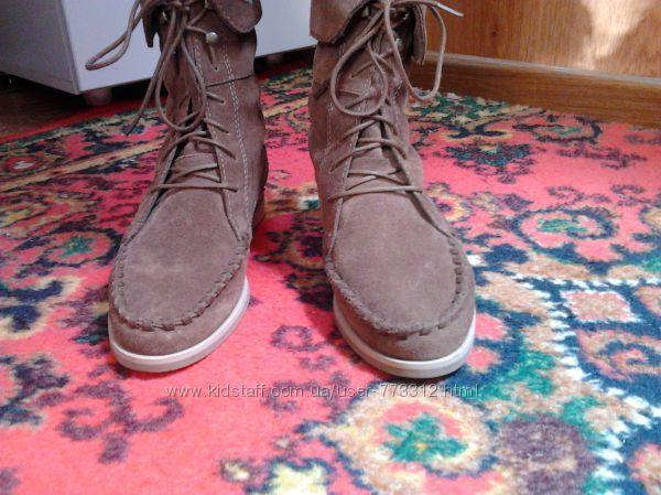 Стильные ботинки MARKS & SPENSER LIMITED COLLECTION р-р 37, стелька 23