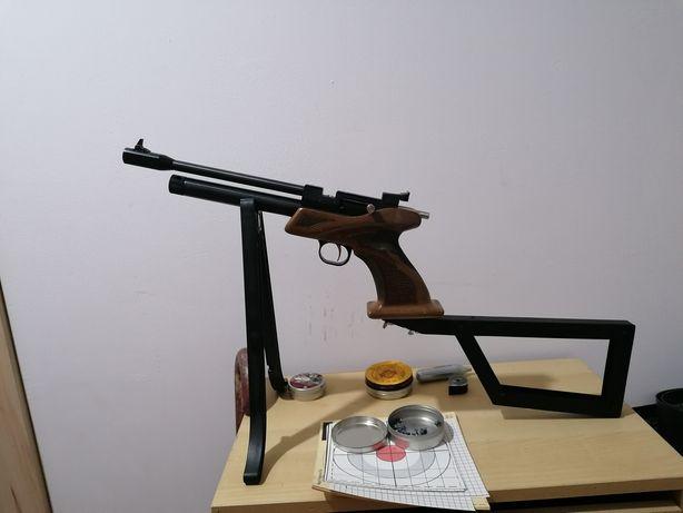 Pistola C02 calibre 4,5 mm / .177 / Troco