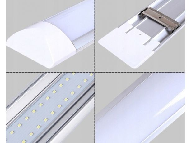 Lampa led Slim38w=. 120w 230v swietlówka nowego typu 120cm natynkowa w