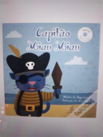 Livro O Capitão Miau Miau