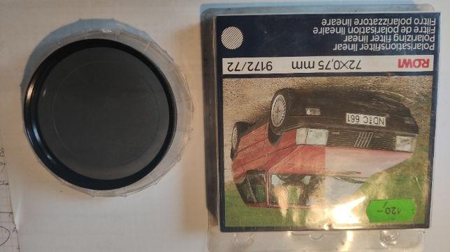 Filtr Polaryzacyjny 72 mm