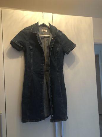 Sukienka jeans zaraz 36