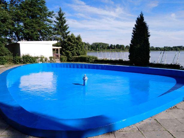 farba żywica basenów betonu uszczelniająca HYDROIZOLACJA epoksydowa