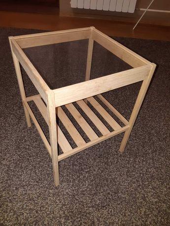 2 x Stolik nocny drewniany