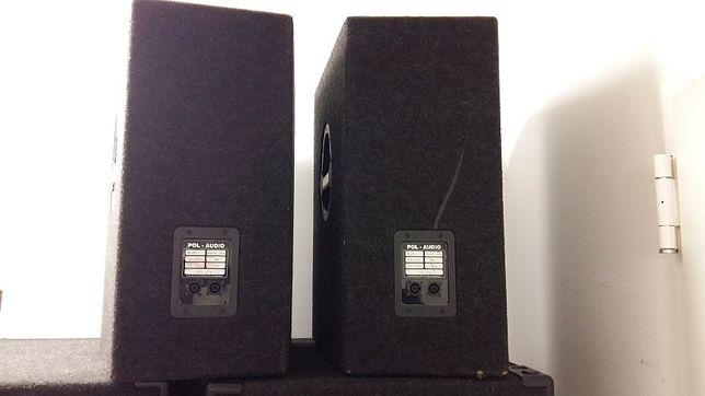 Kolumny głośniki Pol Audio PA115 450W