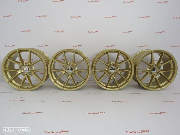 Jantes Look Bmw M4 Cs 18 x 8et34 + 9 et 41 5x120 Gold