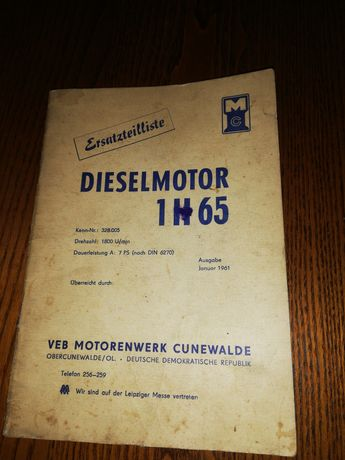 Diselmotor 1H65