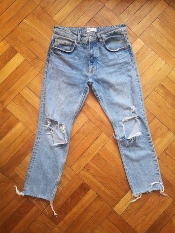 ZARA jeansy spodnie S 38 M 38