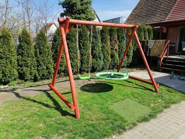 Huśtawka ogrodowa dla dzieci 3 metry Huśtawka i bocianie gniazdo