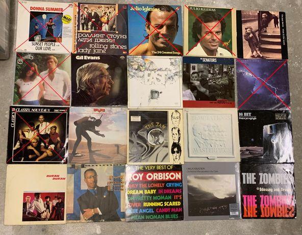 Winyle: OMD, Roy Orbison, Evans, Duran, The Jam, East, Senators, 16BIT