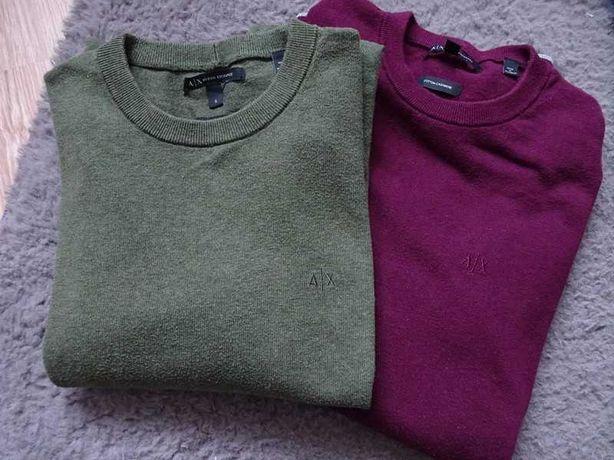 Armani Exchange sweterek z kaszmirem S