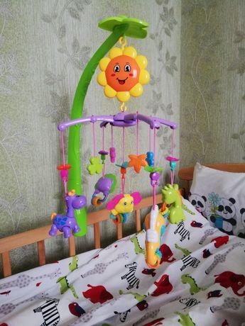 Мобиль на детскую кроватку Карусель на кроватку