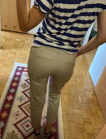 Eleganckie spodnie materialowe