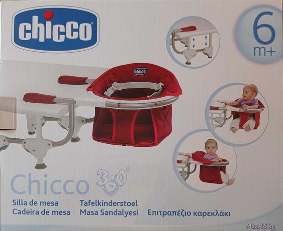 Cadeira de bebé para mesa Chicco 360°