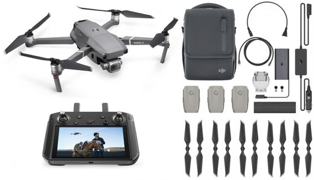 Dron DJI Mavic 2 Pro + Smart Controller + Fly More Kit