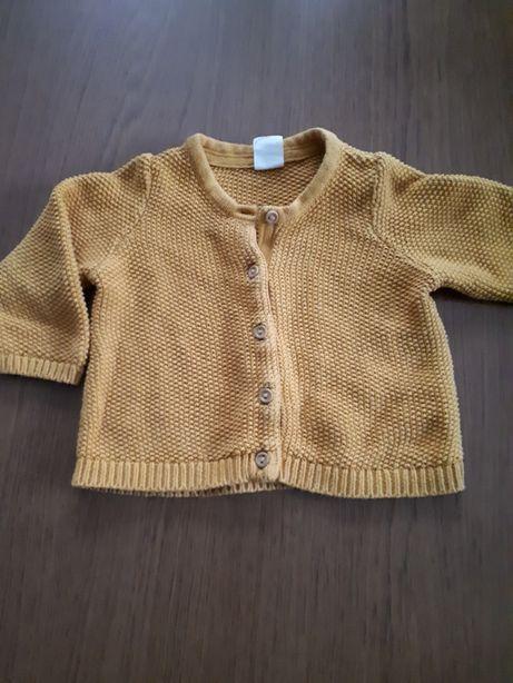 Sweterek dziewczęcy H&M 68