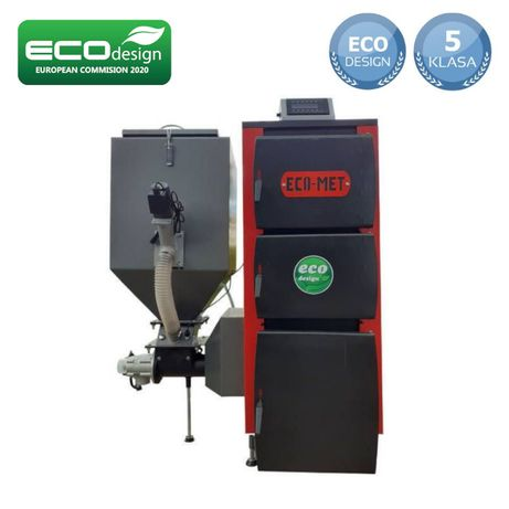 Piec CO na dwa paliwa Certyfikat EcoDesign 5 KLASA