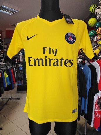 OUTLET Koszulka żółta Nike Paris Saint-Germain, r. M