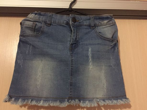 Юбка дитяча,джинсова