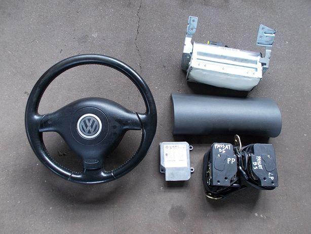 poduszki sensor napinacze pasów komplet VW PASSAT B5 lift