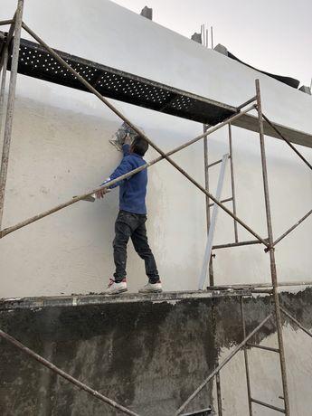 Reboco/ projecao de paredes