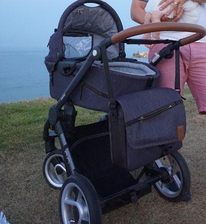 Wózek Mutsy Evo 2w1 - gondola i spacerówka + akcesoria
