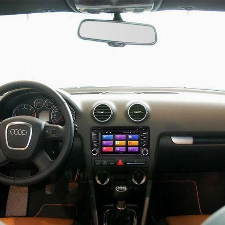 Rádio android Audi A3 DVDs GPS Bluetooth WiFi YouTube etc (novo)