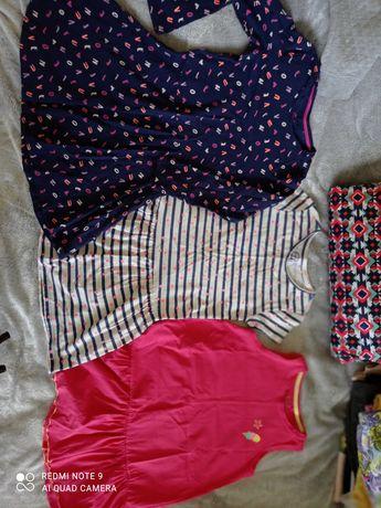Sprzedam ubranka dla dziewczynki w rozm. od 130 do 146 w zadbane