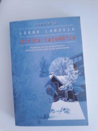 """Książka """"Wielka tajemnica"""" L. Landvik"""
