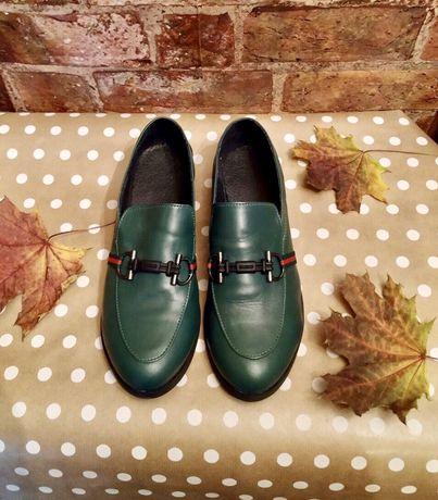 Женские   новые лоферы,туфли, лордсы 40 размера натуральная кожа