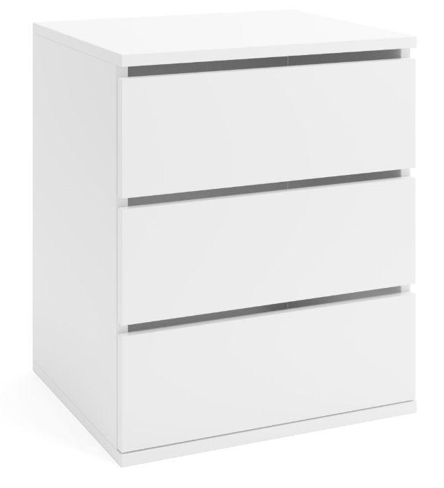 KONTENEREK DO SZAFY 3 szuflady biały Bralin - image 1