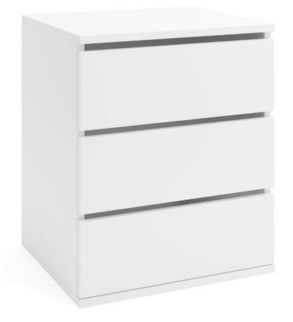 KONTENEREK DO SZAFY 3 szuflady biały