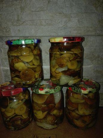 Grzyby marynowane (podgrzybki) 500 ml