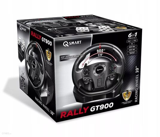 Kierownica Q-smart Rally GT900 PC PS4 Xbox
