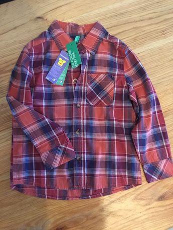 Сорочка для хопчика,рубашка для мальчика, United Colors of Benetton