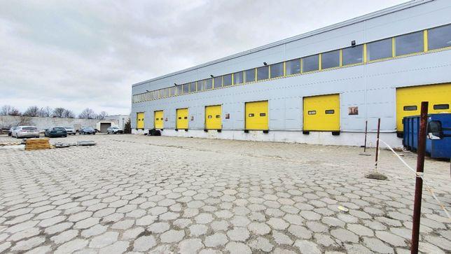 Łódź - Widzew - hala 1000 m2 z pow. biurową - 8 doków