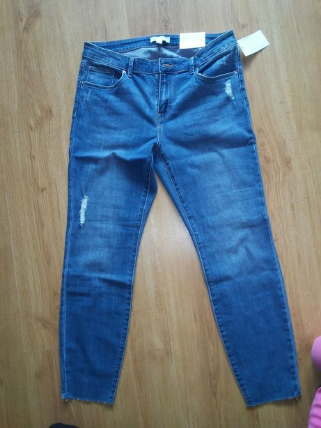 Nowe spodnie H&M 40/42 jeansy