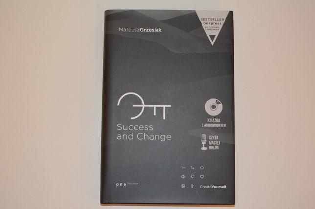 Mateusz Grzesiak - Success and Change [twarda oprawa] + CD audiobook